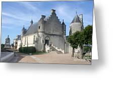 Castle Loches - France Greeting Card