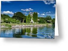 Castle Menlo  Greeting Card