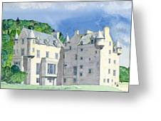 Castle Menzies Greeting Card