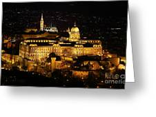 Castle Of Buda Greeting Card