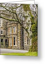 Castle Of Scottish Highlands Greeting Card