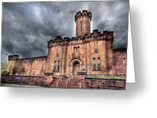 Castle Of Solitude Greeting Card