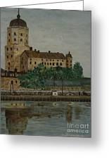Castle Of Vyborg Greeting Card