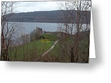 Castle On The Loch Greeting Card