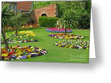 Castle Park Gardens  Greeting Card