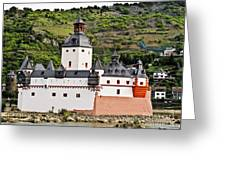 Castle Pfalzgrafenstein Greeting Card