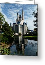 Castle Reflections Greeting Card