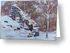 Castle Ruins Greeting Card