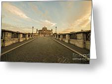 Castle Sant'angelo Greeting Card