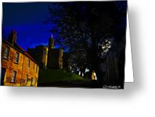 Castle Street Greeting Card