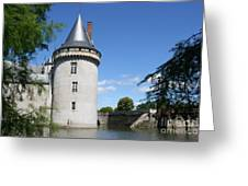 Castle Sully Sur Loire - France Greeting Card