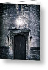 Castle Tower Greeting Card by Joana Kruse