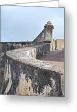 Castle Walls 2 Greeting Card