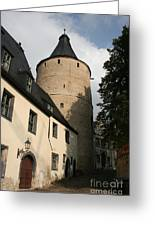 Castle Yard Greeting Card