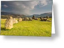 Castlerigg Circles Inner Chamber Greeting Card