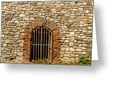 Castles Door. Greeting Card