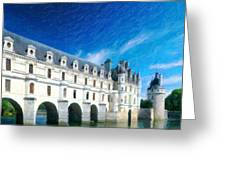 Castles Of France Greeting Card