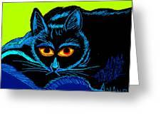 Cat-3 Greeting Card