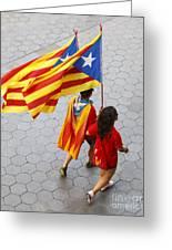 Catalan National Day 2014 Greeting Card