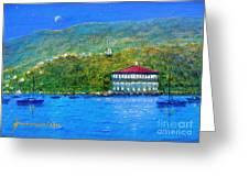 Catalina Island Night Greeting Card