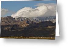 Catalina Mountains Tucson Arizona Greeting Card