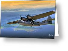 Catalina Over Islands Greeting Card