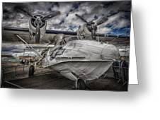 Catalina Pby-5a Miss Pick Up Hdr Greeting Card