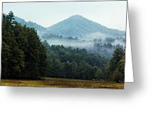 Cataloochee Valley Greeting Card