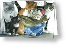 Catatomic Greeting Card