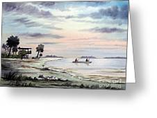 Catching The Sunrise - Hagens Cove Greeting Card