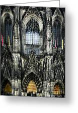 Cathederal In Koln Greeting Card