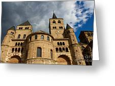 Cathedral And Church Of Our Lady  Greeting Card