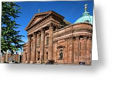 Cathedral Basilica Of Saints Peter And Paul Greeting Card