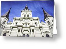 Cathedral-basilica Of St. Louis King Of France Greeting Card