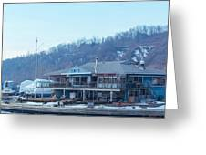 Cathedral Bluffs Yacht Club At Toronto Greeting Card