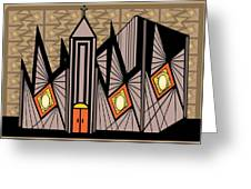 Cathedral Greeting Card