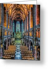 Cathedral Chapel Greeting Card