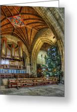 Cathedral Christmas Greeting Card