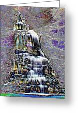 Cathedral Falls Greeting Card