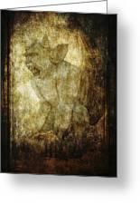 Cathedral Gargoyle Greeting Card