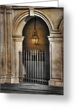 Cathedral Gate Greeting Card by Brenda Bryant