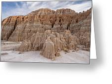 Cathedral Gorge Morning Greeting Card