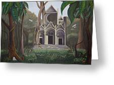 Cathedral In A Jungle Greeting Card