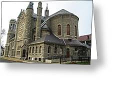 Cathedral In Buffalo Greeting Card