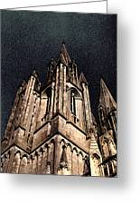 Cathedral In The Sky Greeting Card