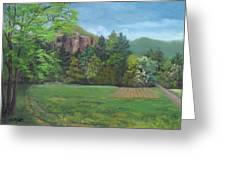 Cathedral Ledge From Westside Road Greeting Card
