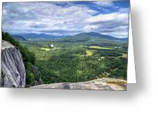 Cathedral Ledge View Greeting Card