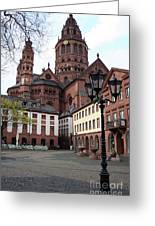 Cathedral - Mainz Greeting Card
