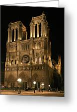 Cathedral Of Notre Dam Greeting Card