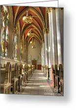Cathedral Of Saint Helena Greeting Card